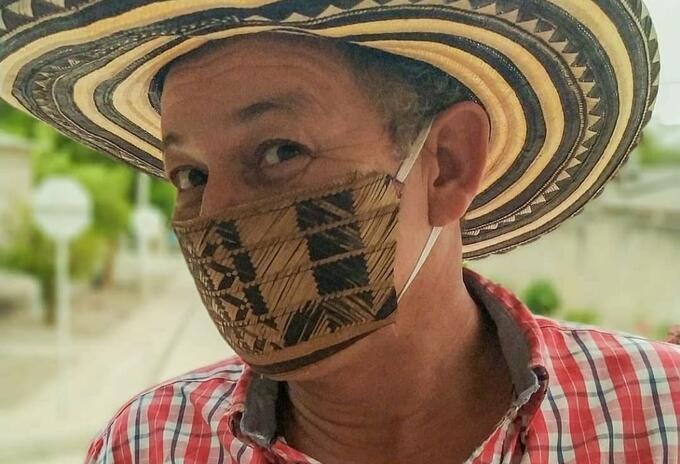 'Tío Pello', personaje de Sucre que narra historias del Caribe