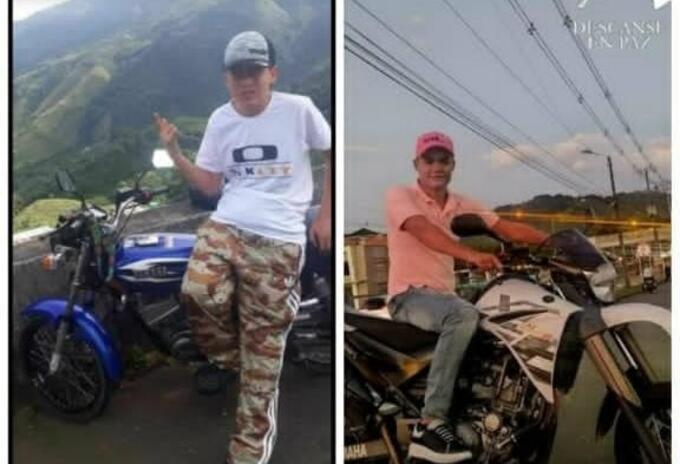 Dos jóvenes murieron al chocar sus motocicletas