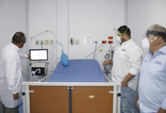 En Córdopba harán expansión de camas UCI