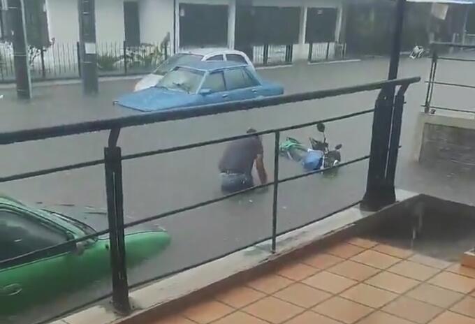Inundación en Dosquebradas, Risaralda