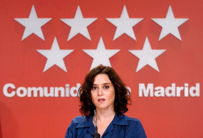 Isabel Díaz Ayuso, candidata a reelección a presidencia regional de Madrid, España