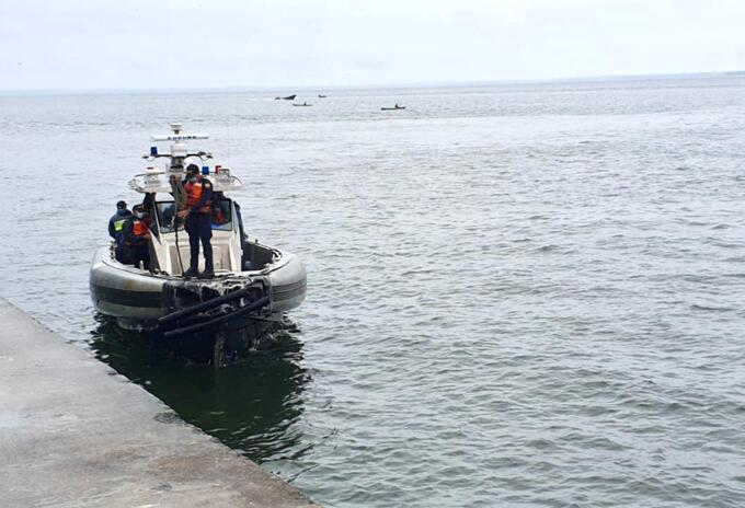 Armada rescate mar