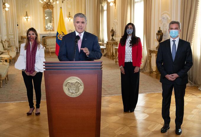 El mandatario instaló el Foro de Alcaldes 'Hacia una recuperación inclusiva y sostenible de las ciudades'