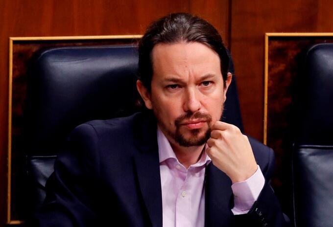 Pablo Iglesias, líder del partido español Unidas Podemos