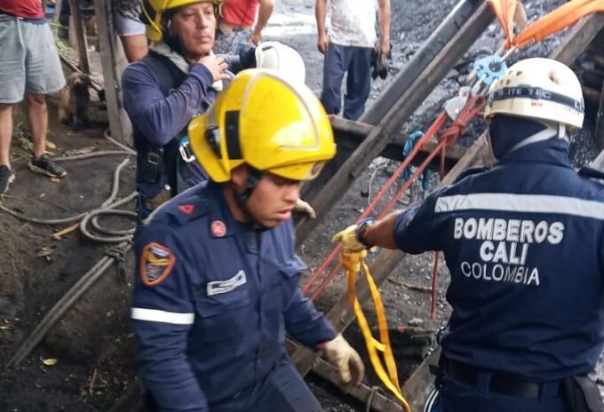 Rescate mineros Cali
