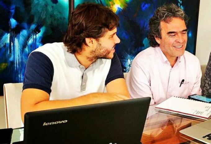 Santiago Londoño y Sergio Fajardo.