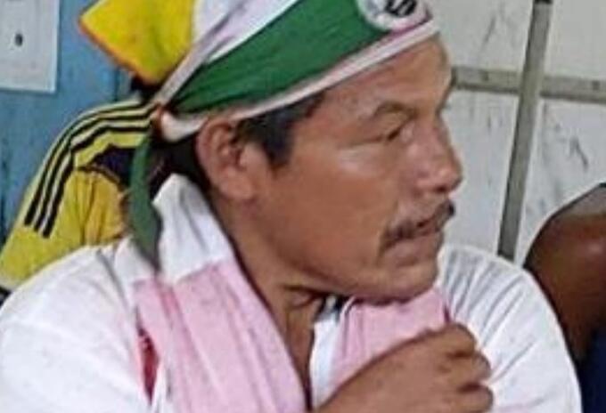 José Santos López, líder indígena asesinado