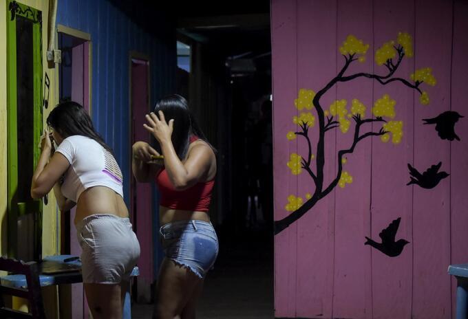 Las trabajadoras sexuales en Colombia.