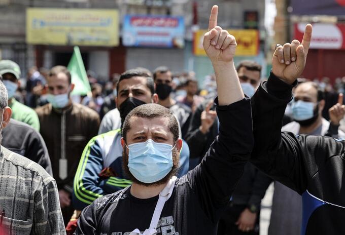 Disturbios Palestina