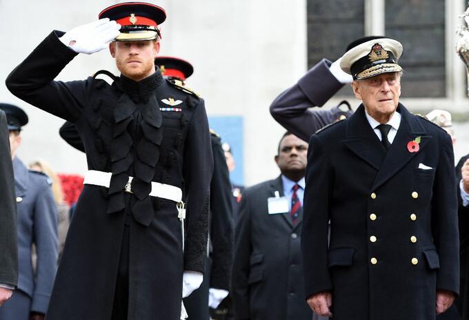 Príncipe Harry y Felipe