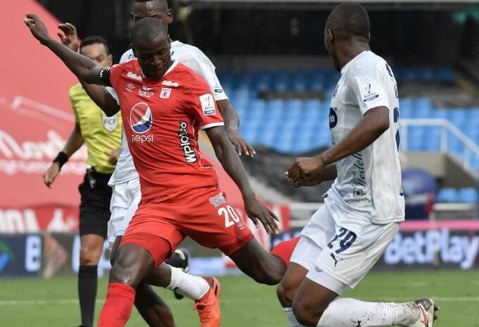 América vs Medellín; Liga Betplay 2021