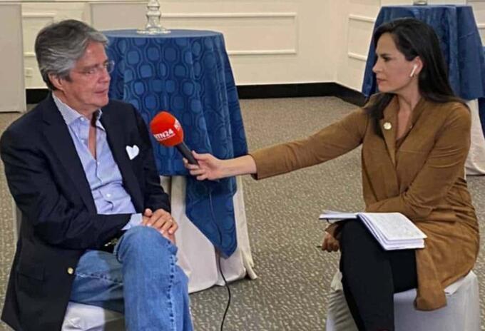 Guillermo Lasso en entrevista con Noticias RCN
