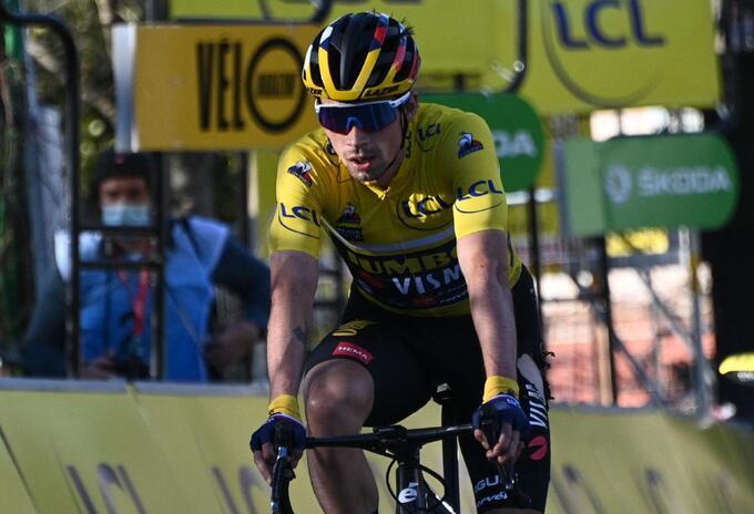 Primoz Roglic, campeón del País Vasco