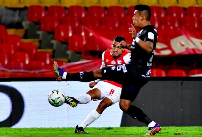 Santa Fe vs Pereira empataron en la fecha 16 de la Liga Betplay 2021