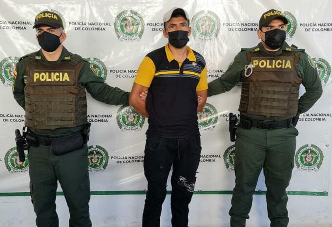 """Alias """"Tolima"""" integrante del Clan del Golfo fue capturado en el Huila"""