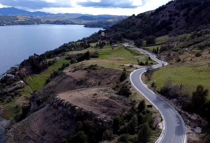 Anillo vial Lago de Tota