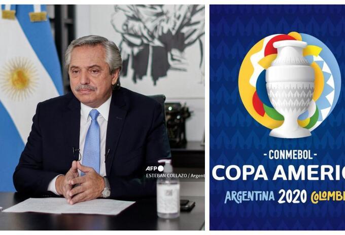 Alberto Fernández - Copa América