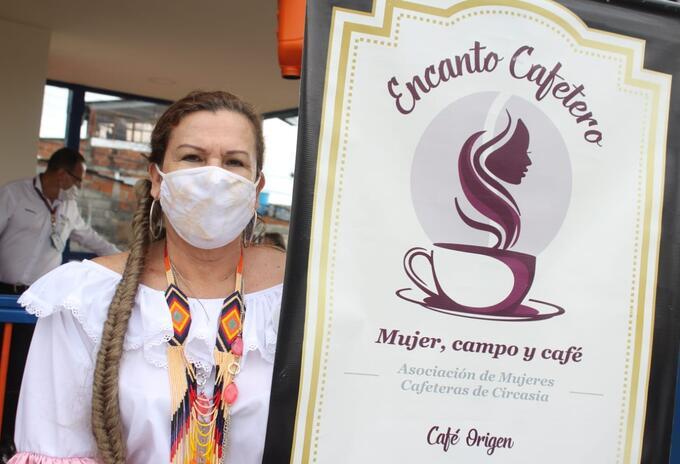 Café Mujer Circasia - Archivo Gobernación del Quindío