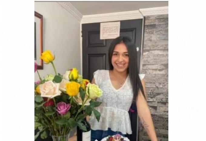 Aura Cristina Aguas, desaparecida en Bogotá