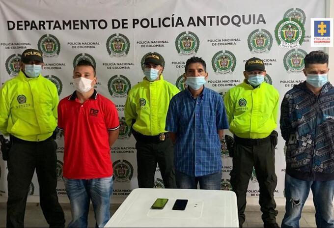 Capturados Masacre Ciudad Bolívar Antioquia