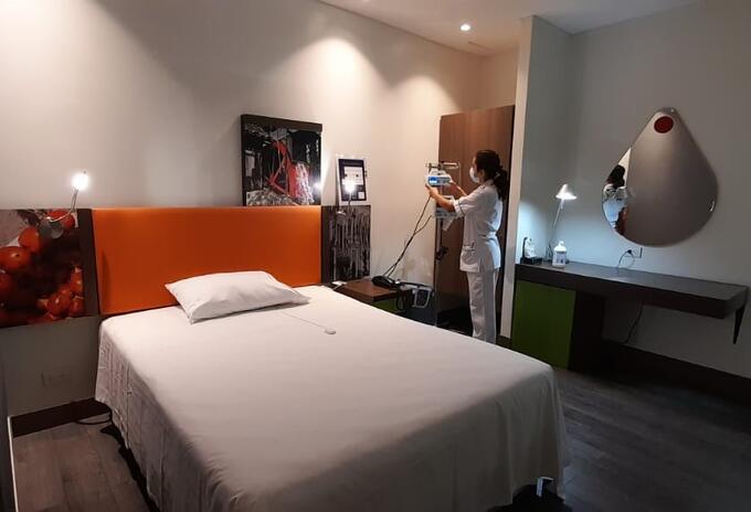 Cuenta con 15 camas para usuarios de baja complejidad y no relacionados con patologías de la covid-19.
