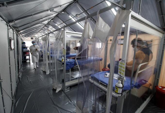 Puestos de vacunación anticovid en Cúcuta