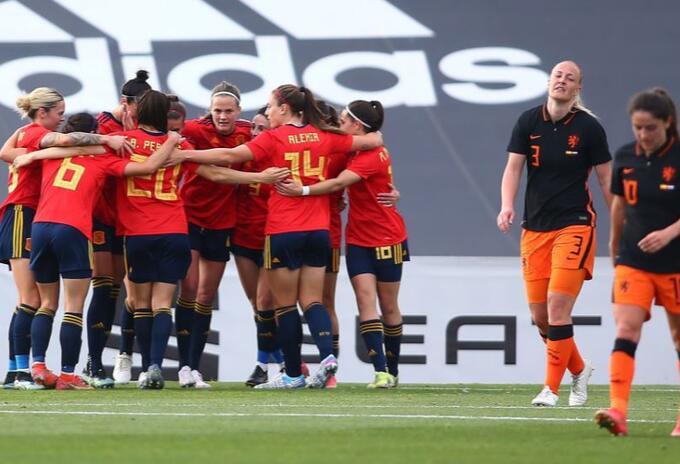 España vs Países bajos femenino
