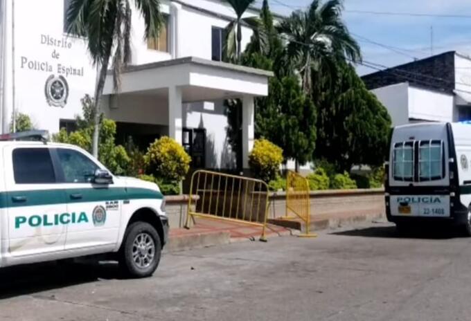 Se escaparon varios detenidos del calabozo en la Estación de Policía en El Espinal