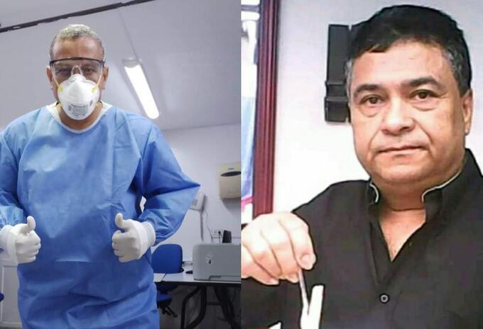 Médicos fallecidos en Barranquilla
