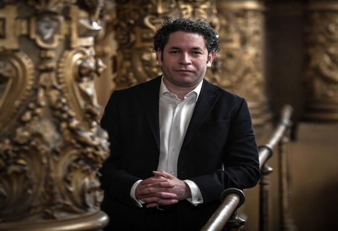 Gustavo Dudamel, nuevo director de la Ópera de París