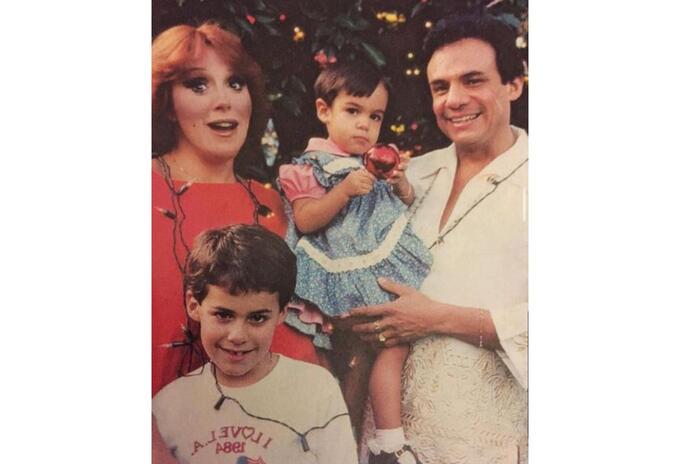 José José y Anel Noreña tuvieron dos hijos
