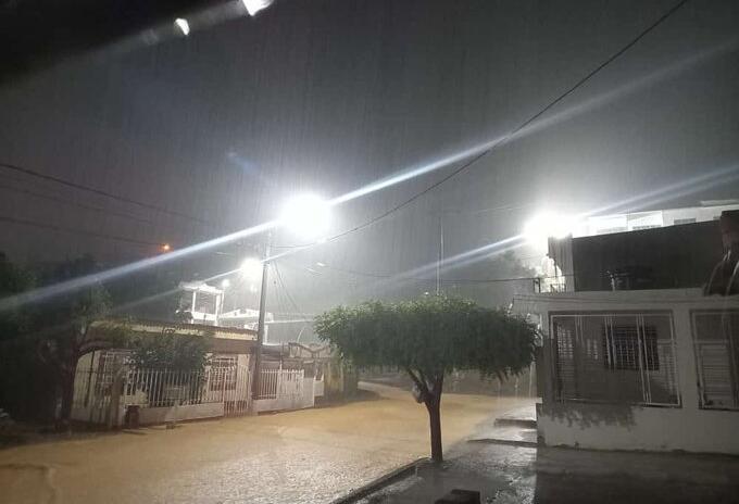 Lluvias en Cúcuta