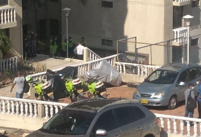 Muerte de hombre tras caer de un quinto piso en Barranquilla