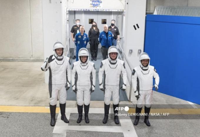 Nueva tripulación de la NASA que viajará a la EEI