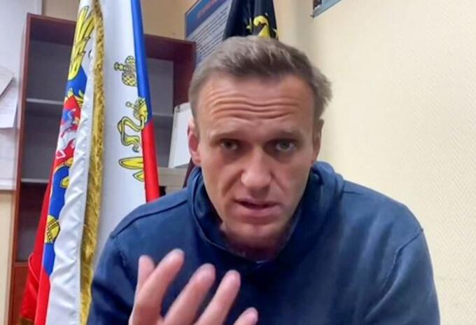 Opositor ruso Alexei Navalni