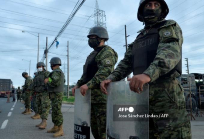 Enfrentamiento en prisión en Ecuador