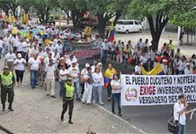 Movilizaciones en Cúcuta