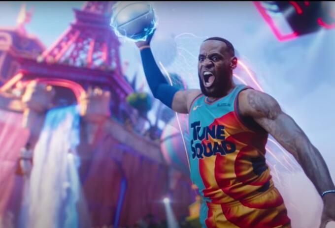 LeBron James protagonista de Space Jam 2