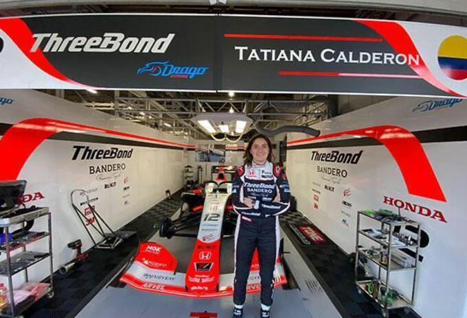 Tatiana Calderón, Súper Fórmula Japonesa