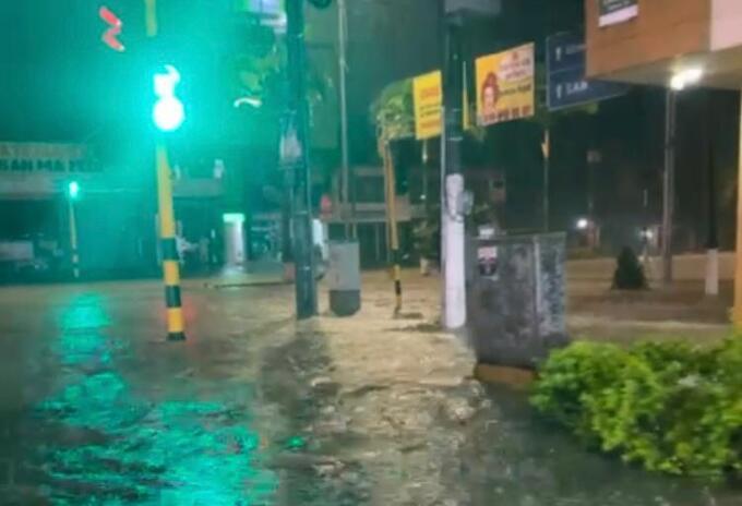 Inundaciones en Dosquebradas