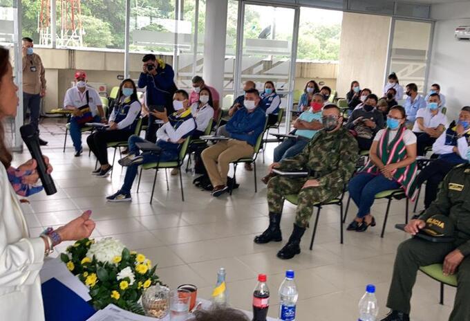 Reunión Reconstrucción Mocoa