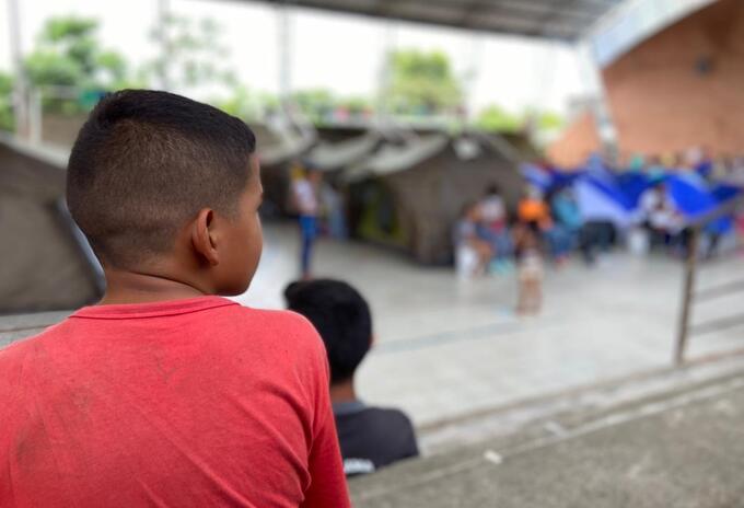 Venezolanos refugiados en el municipio de Arauquita, Arauca
