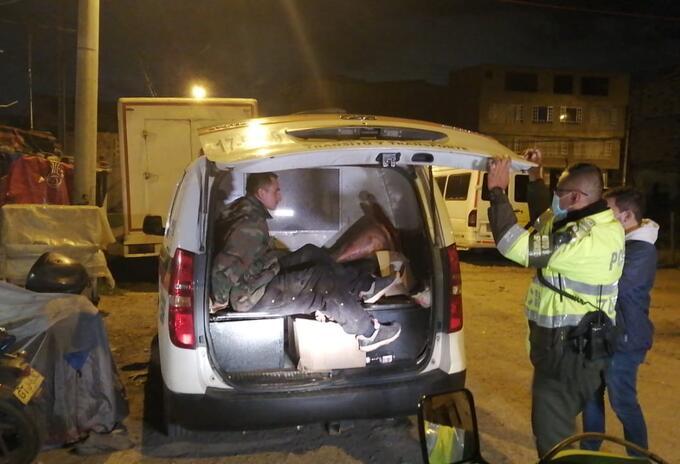 La Policía de Tránsito detuvo a uno de los tres delincuentes que participó en el secuestro