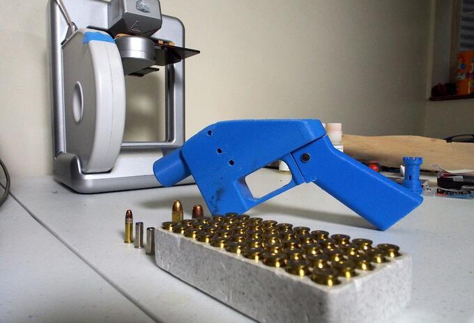 Armas en 3D en EE.UU.