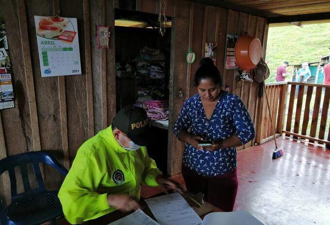 Concejal capturada en Caquetá