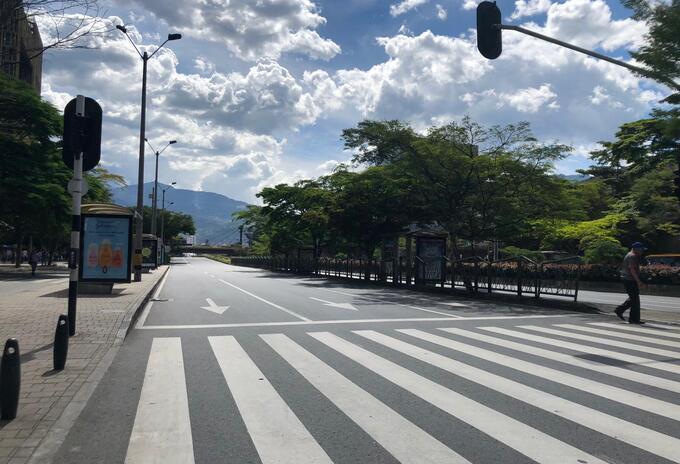 Confinamiento Medellín
