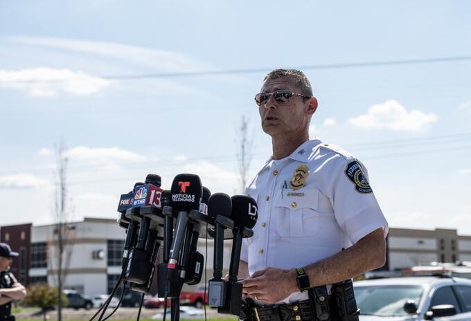 Policía de Indianápolis, EE.UU.