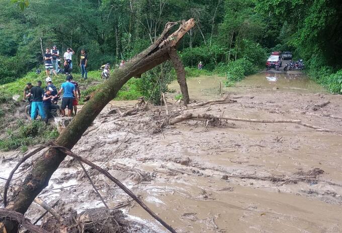 Emergencia invernal en Ubalá, Cundinamarca