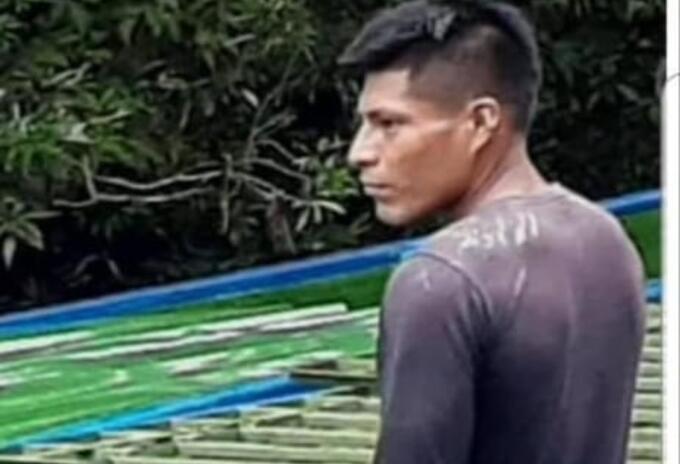 El joven líder indígena falleció en medio de los combates entre ilegales