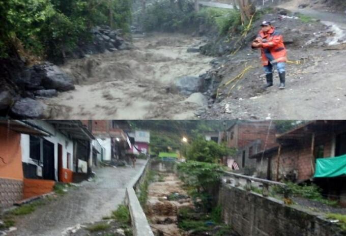 Referencia emergencia por las lluvias en Dabeiba, Antioquia.